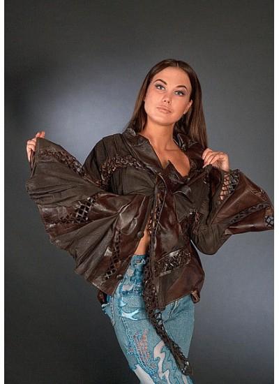 Кожаный пиджак, одежда из кожи, натуральная кожа