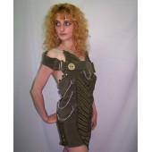 Платье-туника 'Military'