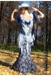 Платье коктейльное «Cascades»