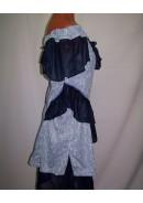 Платье коктейльное 'Blue flare'