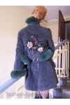 Одежда весна-осень, одежда из джинсы, одежда из натурального меха