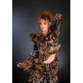 """Костюм """"Leopard""""- юбка и куртка"""
