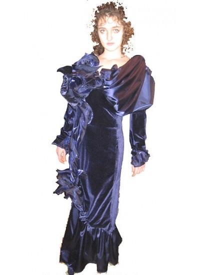 """Платье вечернее """"Velvet rose"""""""
