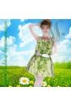 "Сарафан ""Flowers on green"""