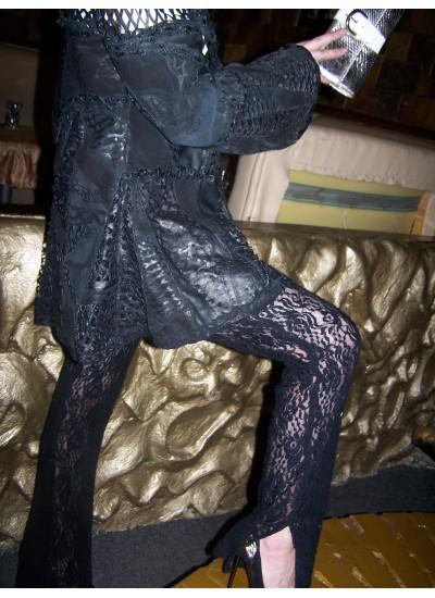 Брюки женские, костюмы женские, гипюровая одежда, кружевная одежда, одежда из гипюра, коктейльные костюмы, клубная одежда