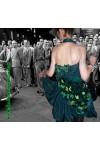 Коктейльное платье «Ruffles, pleats and flowers»