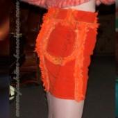 Юбка вельветовая «Oranged»