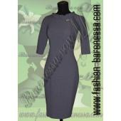 Платье-футляр «Grey strict»
