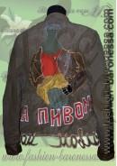Куртка-пиджак из вельвета «Za pivom»